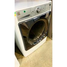 See Details - USED- White Gas Dryer SET -FLGDRY27W-U Serial #50