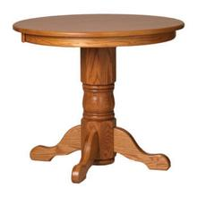 Tall Solid Top Round Table