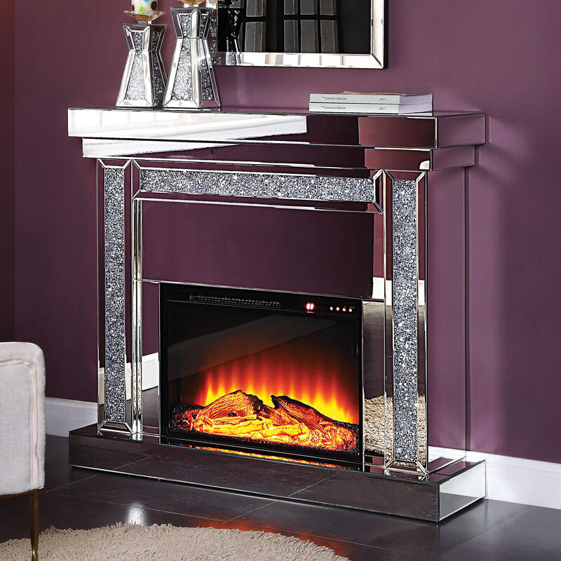 View Product - Noralie Glam Fireplace