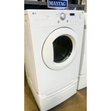 See Details - USED- 7.0 cu.ft. Super Capacity Dryer- FLDRYE27W-U  SERIAL #118