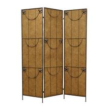 Lone Star Screen 3 Panel Room Divider