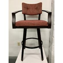 "Amisco ""Jonas"" Swivel Bar Stool"