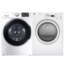 See Details - 4.5 cu. ft. Ultra Large Capacity Smart wi-fi Enabled Front Load Washer & 7.0 cu. ft. Electric Dryer- Minor Case Imperfections