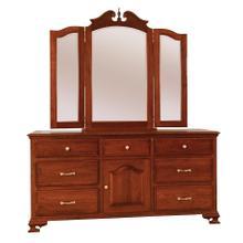 Dresser w/Tri-View Mirror