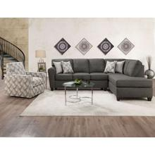View Product - Grande Charcoal Chaise Sectional