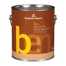 ben Waterborne Interior Paint - Flat (W625)