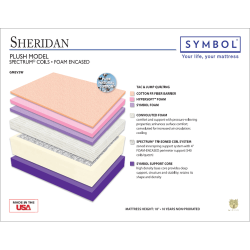 Symbol Sheridan Luxury Plush Double Sided