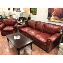 Sumpter all leather chair