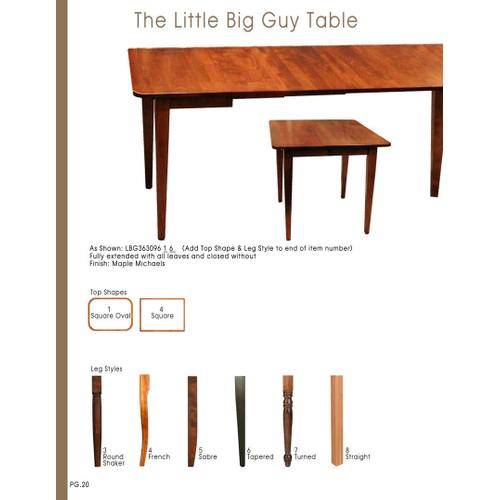 Little Big Guy Table