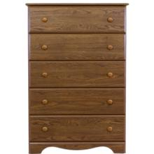 5 Drawer Chest Autumn Oak