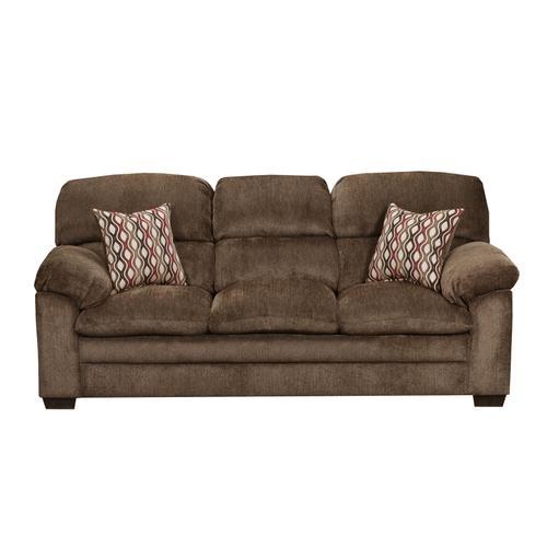 Harlow Chestnut 3PC Set: Sofa, Loveseat & Chair (3683)