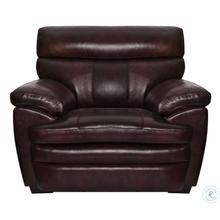 Scottsdale Brown Leather Chair