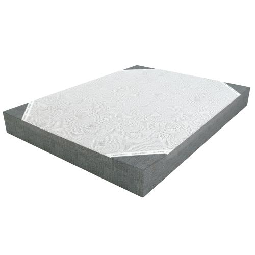 8' Queen Memory Foam Mattress w/ Adjustable