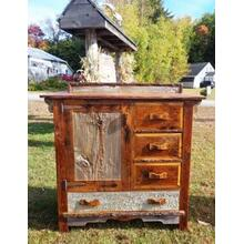 Reclaimed Barnwood Locally Made Cabinet