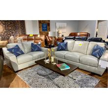 Alaska Cloudy Leather Sofa & Loveseat