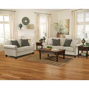 Milari- Linen Sofa and Loveseat