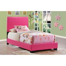 Twin Bed Pink