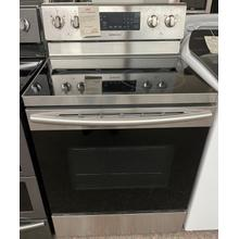 See Details - 5.9 cu. ft. Freestanding Electric Range with Convection in Stainless Steel