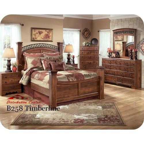Ashley Furniture - Ashley B258 Timberline Bedroom set Houston Texas USA Aztec Furniture