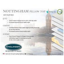Nottingham Pillow Top