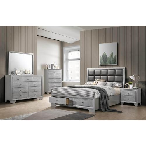 Reem 4 Pcs Queen Bedroom Set