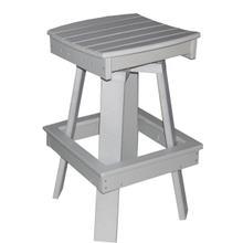 "17"" Swivel Saddle Dining Chair"
