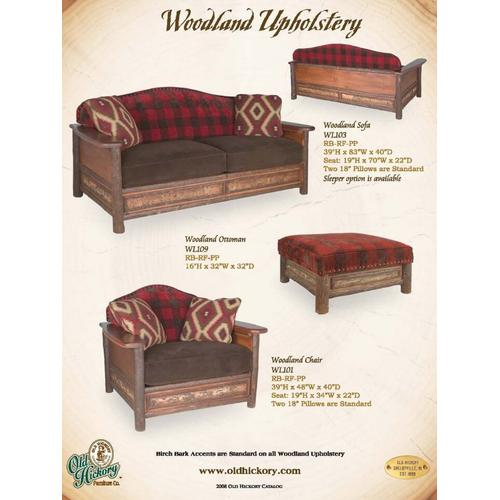 Old Hickory Furniture - Woodland Upholstery