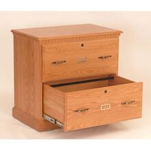 Heirwood 2 Drawer File Cablnet