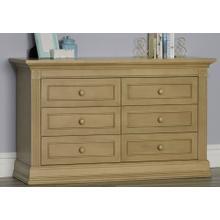 Montana 6 Drawer Dresser - Driftwood