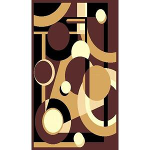 Medium - Moderno 14-Brown 5x8 Rug