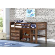 "Artesian Low Loft Bed w"" Storage #3"