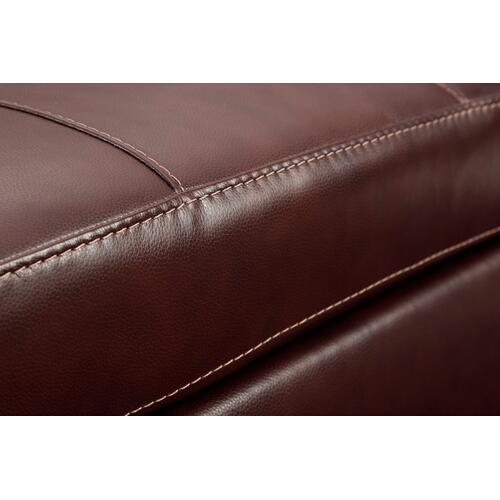 Fortney Leather Ottoman