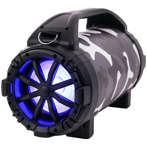 Blackmore Pro Audio Rechargeable Speaker With Bluetooth/FM/USB/TF/Mic-In, Camouflage, BTU 5001 N