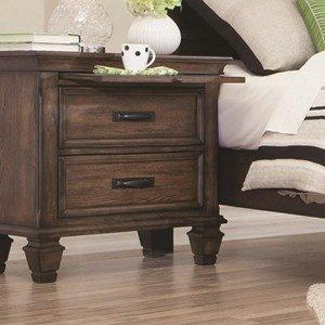 Franco Collection Nightstand