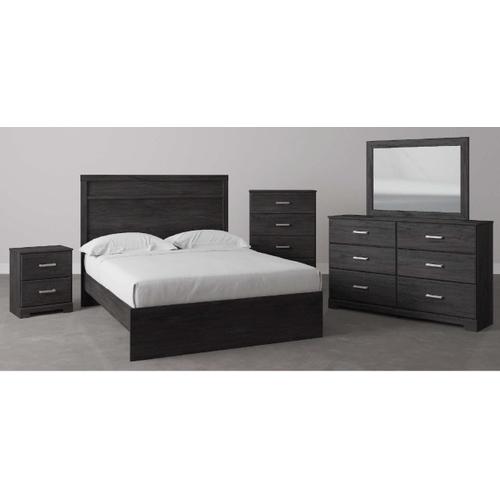 B2589 4PC SET: Dresser, Mirror, Chest, & Nightstand (Belachime))