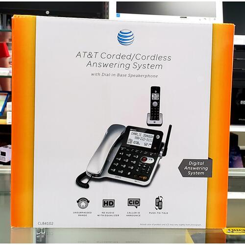 AT&T Corded/Cordless Answering System