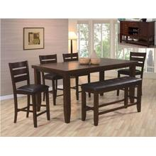 See Details - Crown Mark 2752 Bardstown Counter Height Dining Group