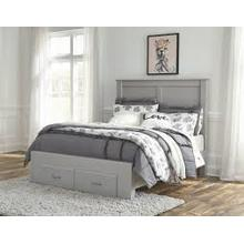 See Details - Full Storage Footboard Bed
