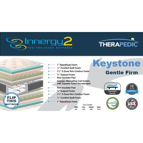 Therapedic - Keystone - Gentle Firm