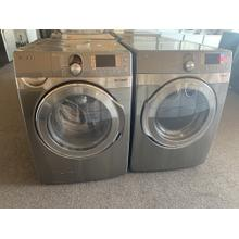 Refurbished Stainless Steel STEAM Samsung Front Load Washer Dryer Set Please call store if you would like additional pictures. This set carries our 6 month warranty, MANUFACTURER WARRANTY AND REBATES ARE NOT VALID (Sold only as a set)