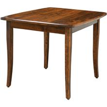 Easton Pike Amish Custom Pub Height/Bar Height Table