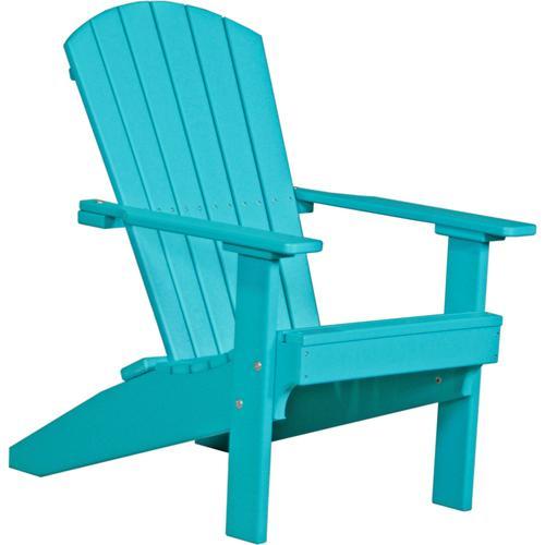 Folding Adirondack Chair Aruba Blue