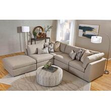 Wood House Logik Modular Sectional - Lava (Beige)
