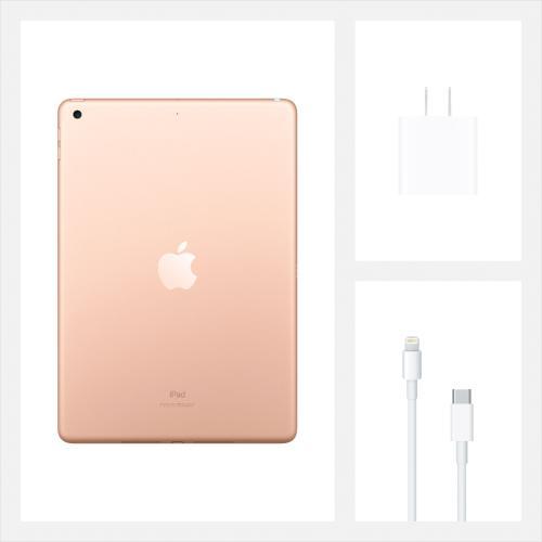 "APPLE I-PAD MYLC2LL/A GOLD - 8th Generation I-Pad, 10.2"", 32GB, Wifi, Bluetooth"