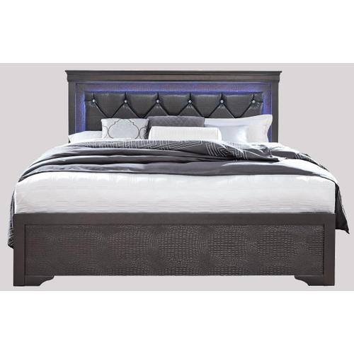 Product Image - Pompeii Queen Bed Grey