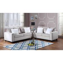 See Details - Cinderella-Silver Sofa and Loveseat Set