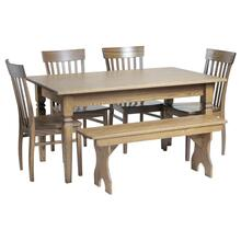 5ft Shaker Farm Table