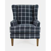 Lacroix Accent Chair Navy