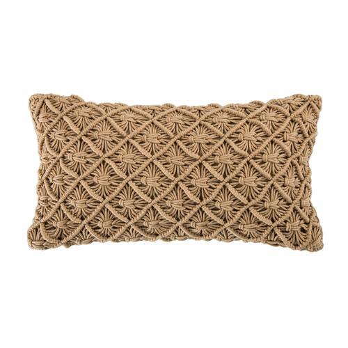 Winchester Crochet Throw Pillow