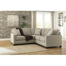 Alenya 2 piece sectional Quartz